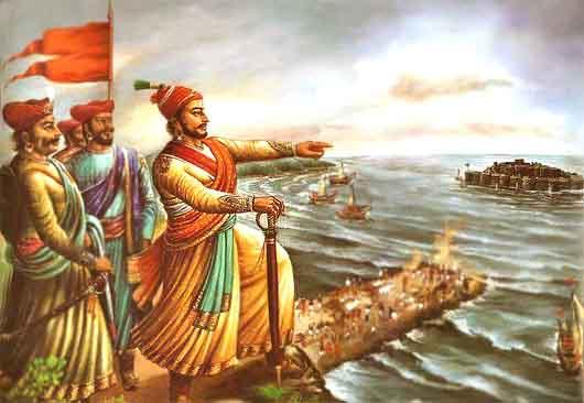 shivaji maharaj father of indian navy marathi